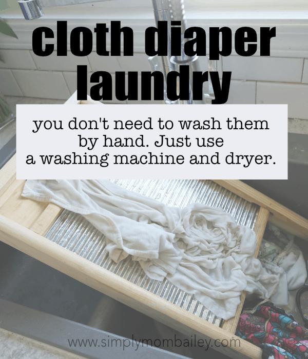 cloth diaper laundry