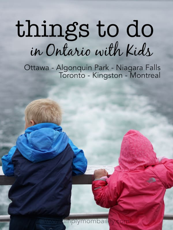 things to do in ontario with kids on a family roadtrip