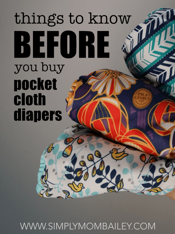 things to know before you buy pocket cloth diapers