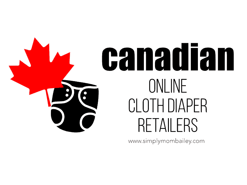 Canadian online cloth diaper retailers