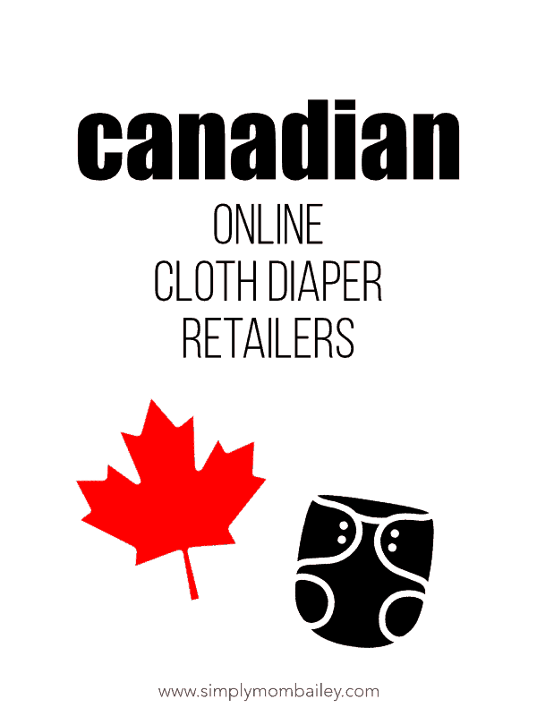 Cloth Diaper Retailers in Canada (online)