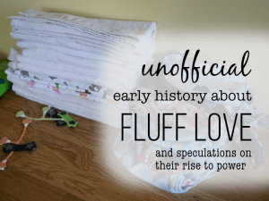 A Brief {Un Official} History of Fluff Love University: the early days.