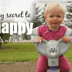 My Secret to Happy Traveling with Young Children