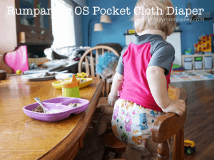 Rumparooz OS Pocket Cloth Diaper Review