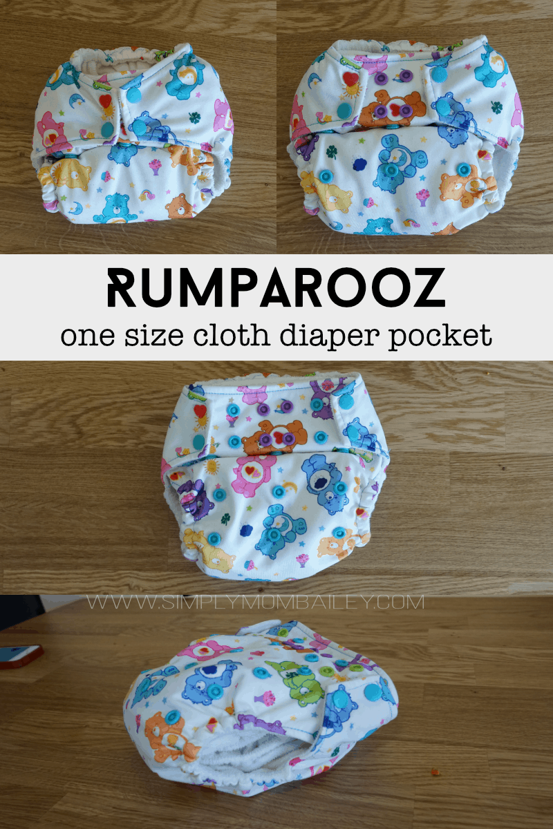 Rumparooz One Size Cloth Diaper Pocket Sizing Review