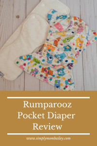 Rumparooz Pocket Diaper Review - Cloth Diapers