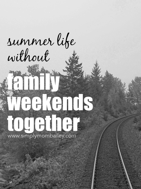 Summer Life without Weekends - Railway Family