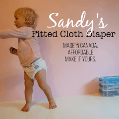 Sandy's Fitted Diaper