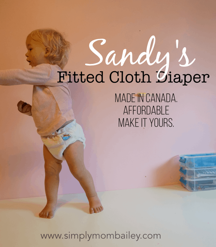8424ff7636205 Affordable Fitted Cloth Diapers for Babies for Bed and beyond - Sandy's  Fitted Diaper is even