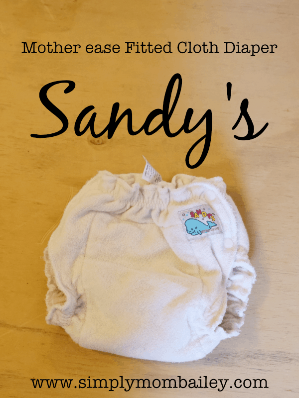Mother ease Sandy's Fitted Cloth Diaper Review - Budget Friendly Fitted Diapers for Heavy Wetters and Bedtime