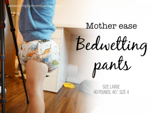 The Absolute Best Cloth Training Pants for Bedwetting Preschoolers: Mother-ease Bedwetting Pants