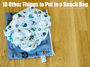 Omaiki Snack Bag fits one diaper