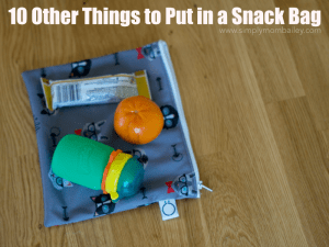 10 Other Things to Stash in Snack Bag Besides Snacks
