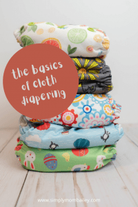 The basics of cloth diapering