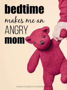 bedtime makes me an angry mom #momlife #infants #sleeptraining #sleepregression #motherhood #honestmotherhood