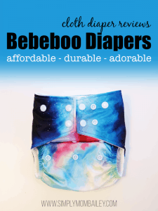 Affordable & Durable Bebeboo Diapers Cloth Diaper Review
