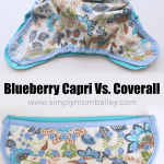 Blueberry Capri Review and Comparison to the Blueberry Coverall