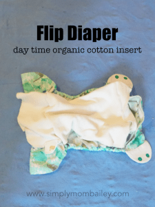 Flip Day Time Insert in a Flip Cloth Diaper Cover
