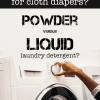 The Evidence [or lack thereof] for Powdered versus Liquid Detergent?