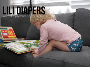 Lili Diapers is a Quebec made pocket cloth diaper by a WAHM
