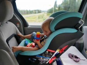Rear Facing Car Seats in the Toyota Sienna