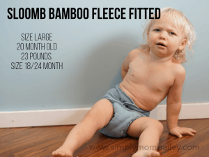 Sloomb Fitted Diaper