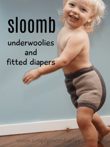 Sloomb Underwoolies on a Toddler over a Size Large Fitted Diaiper - Toddler is aged 20 months, 23 pounds and a size 18 months