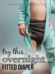 Try these overnight cloth diapers