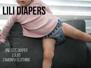 pocket diaper on 23lb baby - 24 month clothing