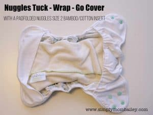 How to put an Insert in a Cloth Diaper Cover