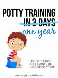 Potty Training in One Year not 3 days