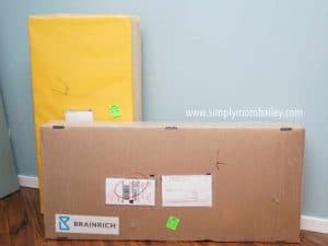 Brain Rich Kids Play Gym Package - How big is it to ship