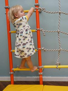 BrainRichKids Indoor Climbing Activity for young kids
