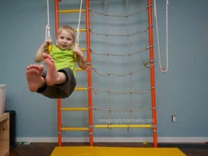 Indoor Swing for Young Kids - Indoor Activity Center for kids