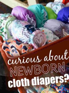 Curious about Newborn Cloth Diapers? Complete List of Newborn Cloth Diaper Reviews and Advice for Moms