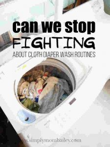 Can we stop fighting about cloth diaper wash routines?