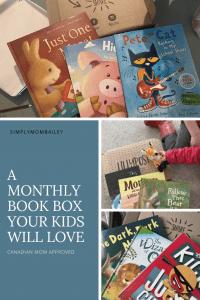 Monthly Book Box for Kids - Preschool Activities