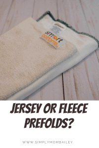 Jersey or Knit Prefolds for Cloth Diapers