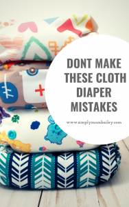 Don't make these cloth diaper mistakes