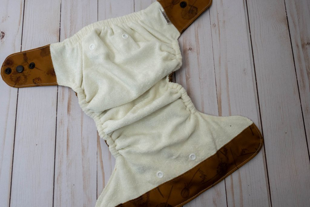 Elskbar Reusables All In Two Snap In Cloth Diaper Review-11