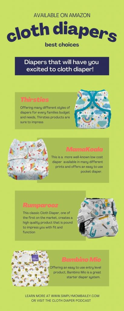 Available on Amazon Cloth Diapers
