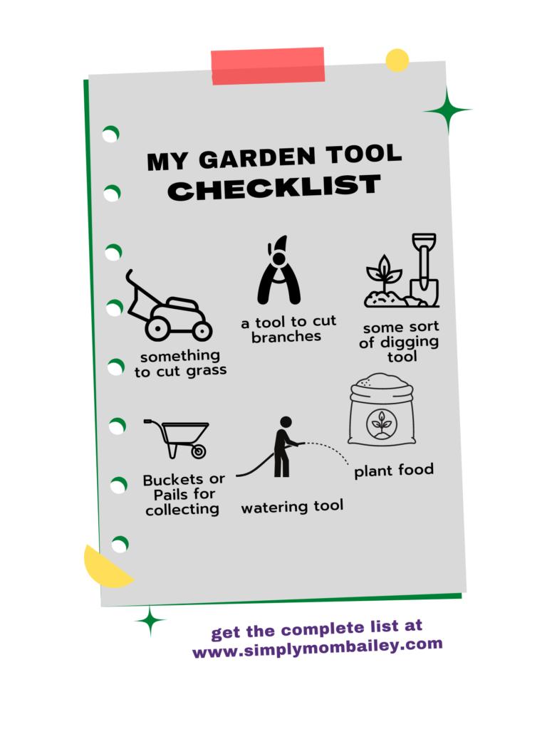 Must Have Garden Tools
